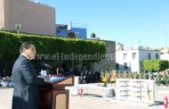 Participa Silvano Aureoles en ceremonia de destrucción de armas decomisadas