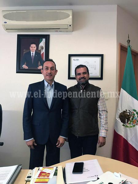 ÁNGEL MACÍAS, PRESIDENTE MUNICIPAL DE IXTLÁN, COMENZÓ GESTIONES CON SECRETARIO DE DESARROLLO ECONÓMICO