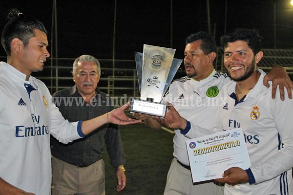 El Carmen ganó campeonato de la copa corona de  futbol rápido empresarial