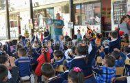 Brindan Educación Ambiental en escuelas de Tangancícuaro