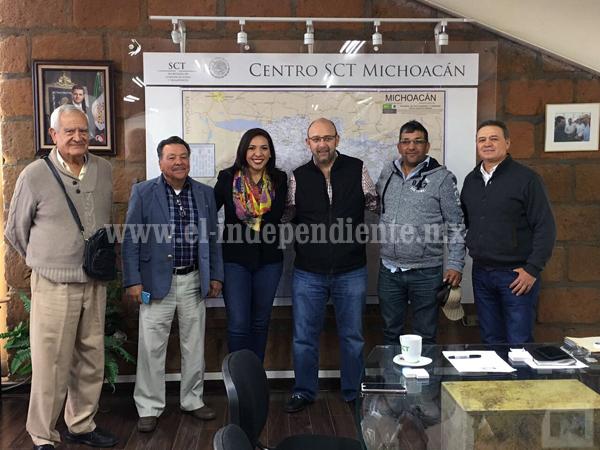 Adriana Campos logró etiquetar 4 mdp para rehabilitar caminos en Jacona