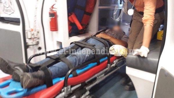 Joven motociclista es lesionado de un balazo, en Jacona