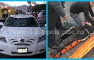Un adolescente herido tras ser embestido por un automóvil