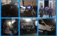 En pleno centro de Yurécuaro, PGR asegura inmueble con arsenal y vehículos robados