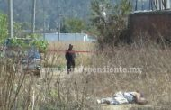Abandonan un ejecutado a espaldas del estadio viejo de Zamora