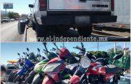 Remite SSP 41 vehículos a corralón en Zamora