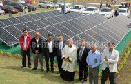 Inauguran granja solar en UNIVA, campus Jacona