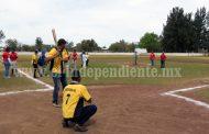 Arrancó el torneo regional de Beisbol en el diamante Zamora