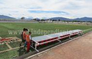 Vecinos, molestos por parálisis de trabajos en Unidad Deportiva poniente