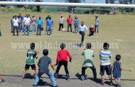 Alcalde prioriza obras deportivas y educativas en El Valenciano