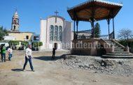 INAH  avaló en Ixtlán rehabilitación de la plaza principal