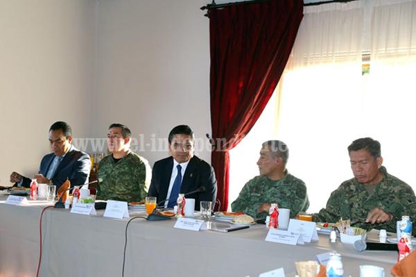 Revisa GCM estrategia de seguridad en Morelia
