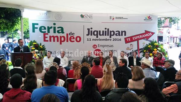Aumenta el empleo y la afiliación al IMSS en Michoacán: Sedeco