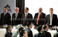 Asiste Gobernador al 40 aniversario del Consejo Coordinador Empresarial
