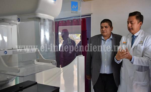 Inició jornada móvil de Salud en Tangancícuaro