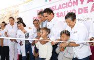 Suman 130 los Centros de Salud dignificados y modernizados: Silvano Aureoles
