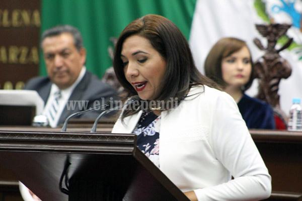 Adriana Campos encabezó reformas a Ley de Derechos de Niñas, Niños y Adolescentes