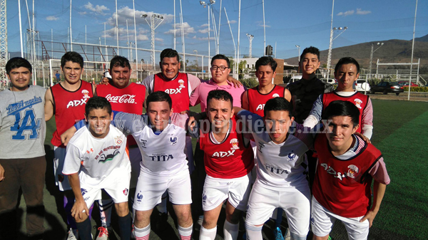 Torneo de futbol 7 sabatino sube en intensidad