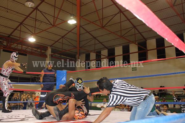 Habrá función de lucha libre de la triple A en Zamora