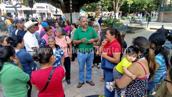 Antorcha campesina exige servicio de agua potable a Ayuntamiento