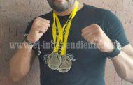 Ulises tinoco obtuvo dos medallas del campeónato  estatal de jiujitsu