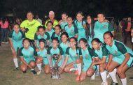 Club deportivo Barza campeón de la liga infantil-juvenil y femenil Zamora