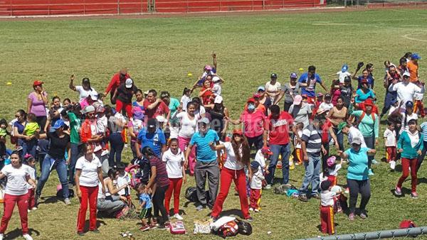 CENDI de Zamora realizó su Mini-Olimpiada