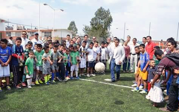Con éxito se desarrolló torneo relámpago de futbol 7