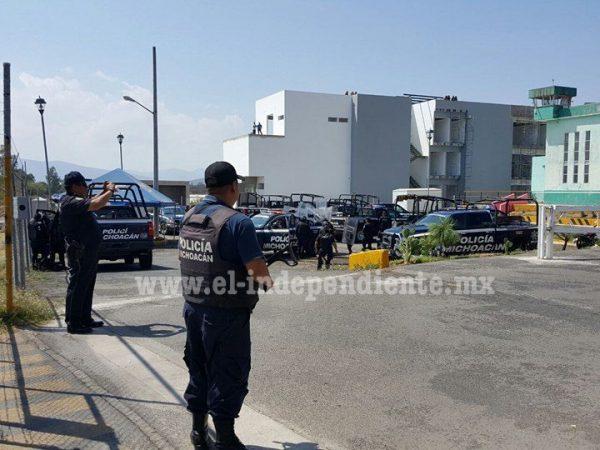 Custodios contienen riña entre internos en el penal de Zamora