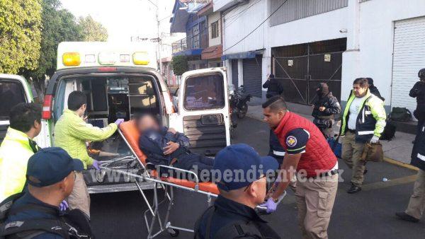 Embiste a policía y lo deja malherido en Zamora