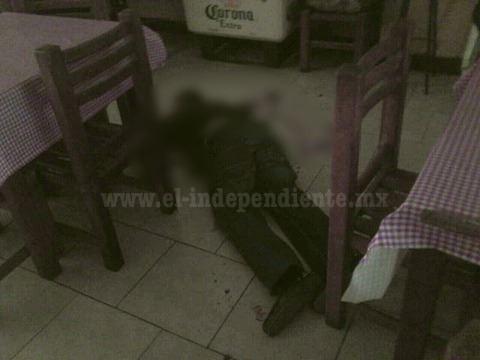 Joven empresario es ultimado en una cantina de Sahuayo