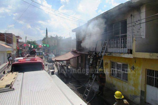 Cuantiosos daños materiales deja incendio en vivienda de El Porvenir
