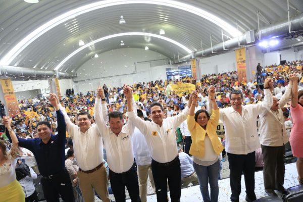 Tiene PRD proyecto para un Mexico justo, igualitario y próspero: Silvano Aureoles