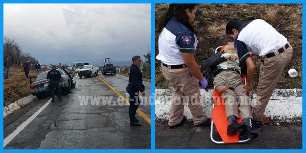 Carambola deja al menos 6 heridos en Ixtlán
