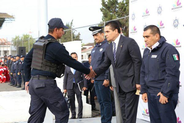 Michoacán no será rehén de grupos delincuenciales: Silvano Aureoles