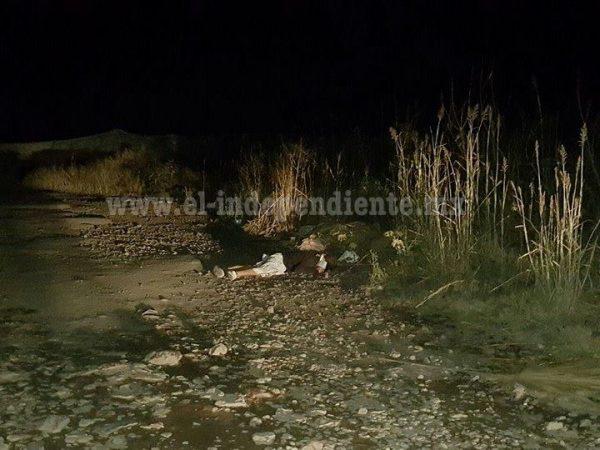 Cubierto del rostro y con un balazo encuentran cadáver en Zamora