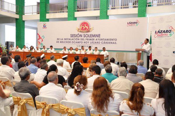 Lázaro Cárdenas, pivote para el desarrollo de Michoacán y del país: Silvano Aureoles