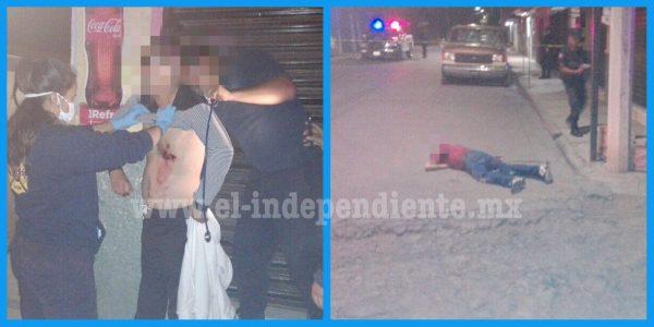 Tirotean a los ocupantes una camioneta en Jacona; hay un muerto y un herido