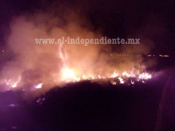 Incendio en el basurero de Zamora es controlado por los Bomberos