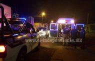 Un herido por arma blanca y dos detenidos durante riña en Jacona