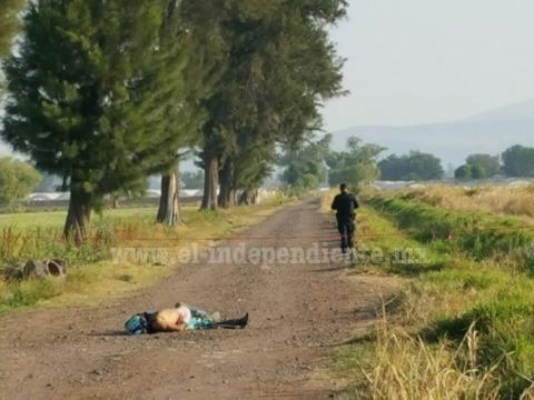 Campesinos encuentran a un hombre asesinado en brecha de Zamora