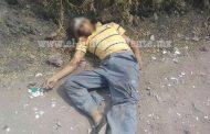 A tiros ultiman a un hombre en brecha de Sahuayo