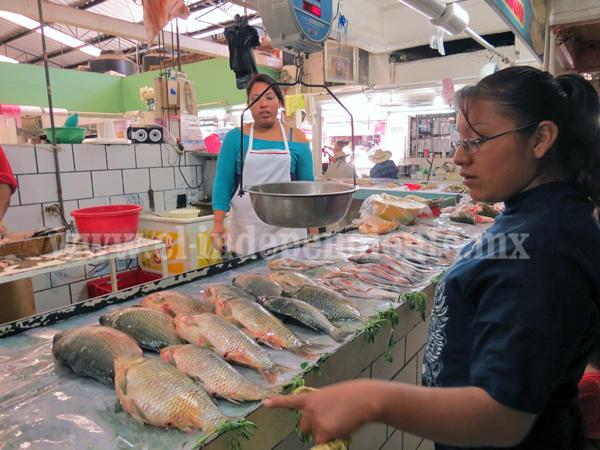 Aumento de venta de pescado y marisco no es la esperada