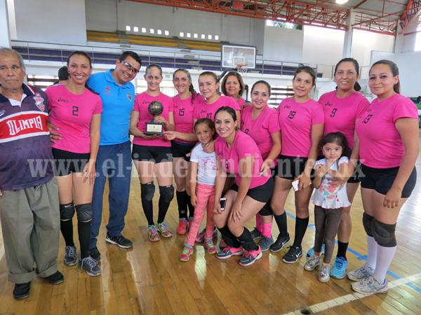 ASIC´S ganó el Torneo de Voleibol de la Liga Municipal  de Zamora