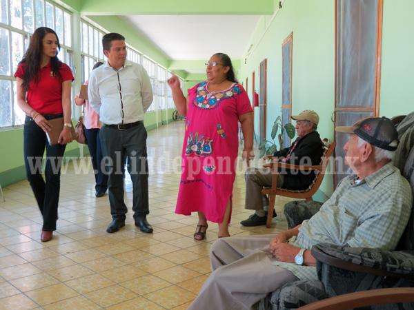CEDH  supervisa asilos de la entidad