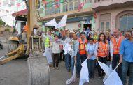 Suma de esfuerzos logra rehabilitar calle Constitución