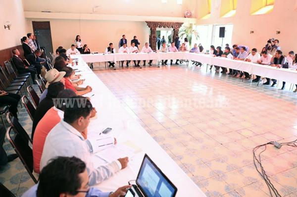 Reconoce Silvano Aureoles trabajo articulado del Consejo para el Desarrollo de Uruapan