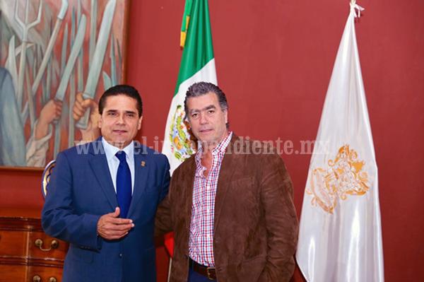 Mi Gobierno, en sinergia con la IP en beneficio de Michoacán: Silvano Aureoles