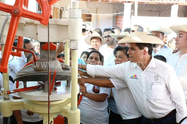Inversión histórica para el desarrollo de Huetamo