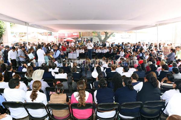 Tendrá Gobierno del Estado mayor cercanía con tenencias de Morelia: Silvano Aureoles